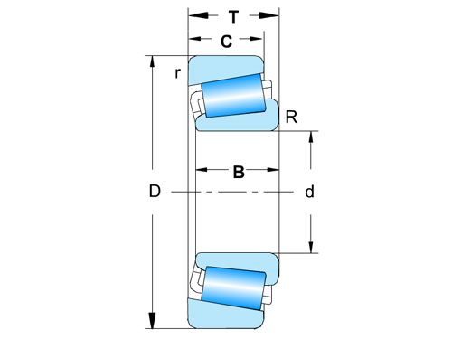 Single-row Taper Roller Wheel bearing